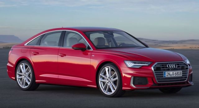 Audi A6 upcoming sedan 2019 exteriors front red