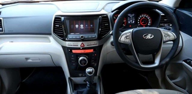 2019 Mahindra XUV 300 Review interior dashboard
