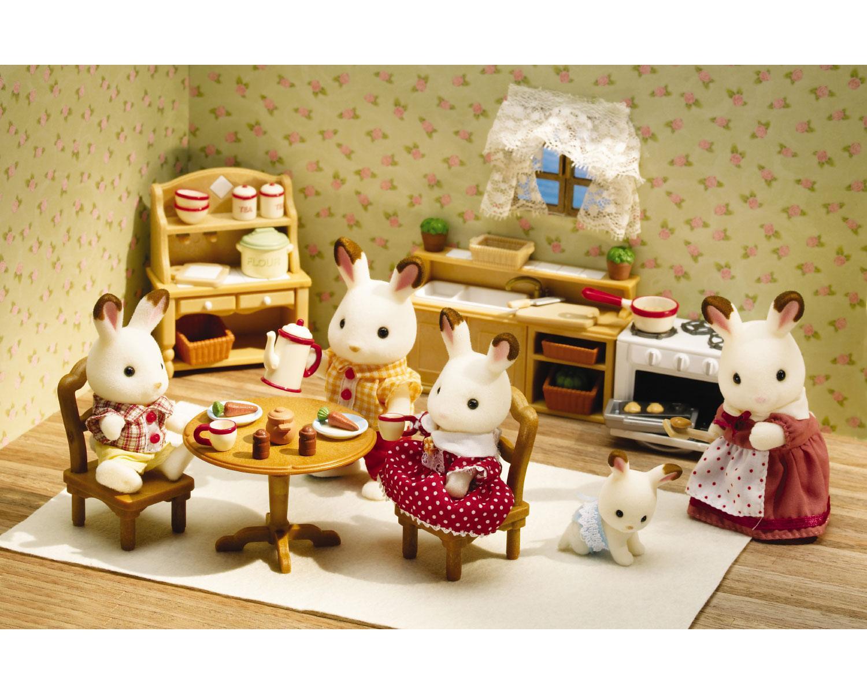 Calico Critters Deluxe Kitchen Set Automobuild