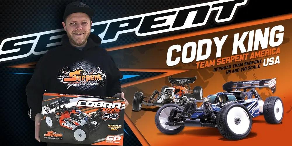 Cody King sceglie Serpent - L'intervista