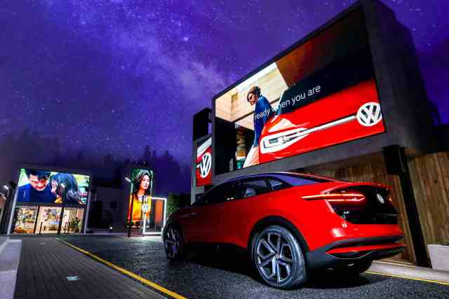 Vok Dams introduces new Volkswagen brand design in China