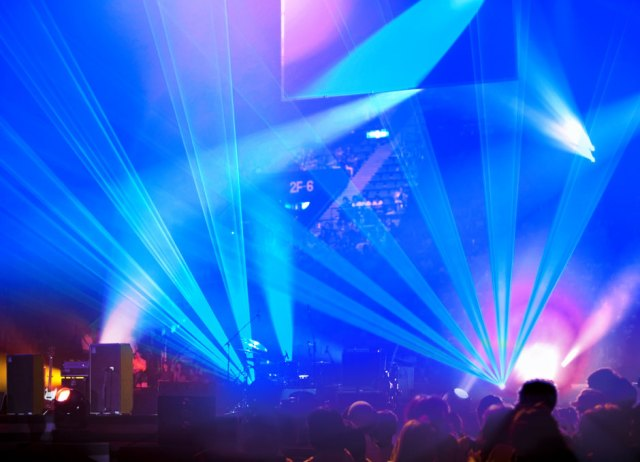 Osram presents blue high-power laser for events
