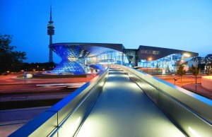 BMW Welt with three million visitors per year