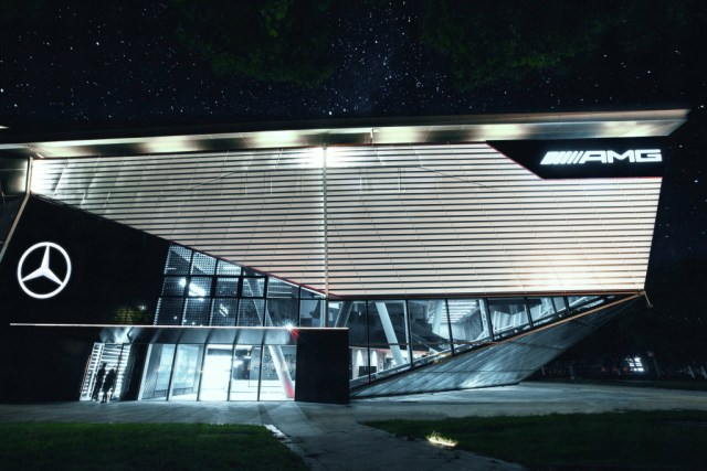 Premiere in China for the first AMG Experience Centre in the world