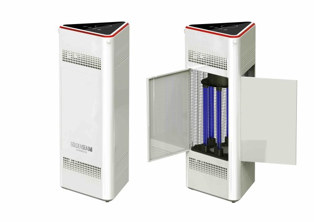 GoldenseaUV offers UV-C disinfection solutions