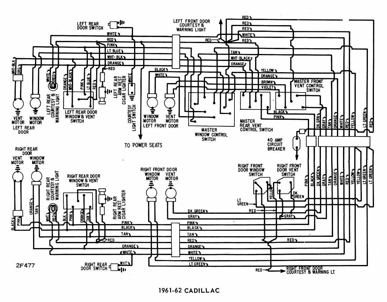 windows-wiring-diagram-of-1961-62-cadillac Radio Wiring Harness Blazer on john deere, for ram r2,