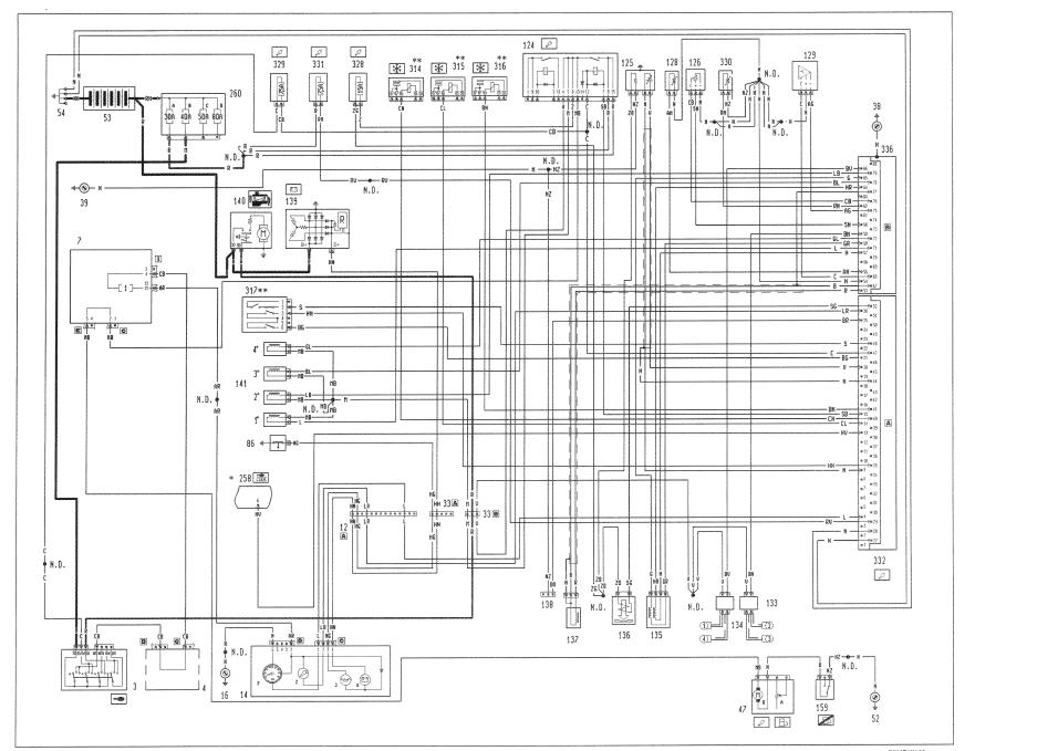 FIAT STILO AIRBAG WIRING DIAGRAM  Auto Electrical Wiring