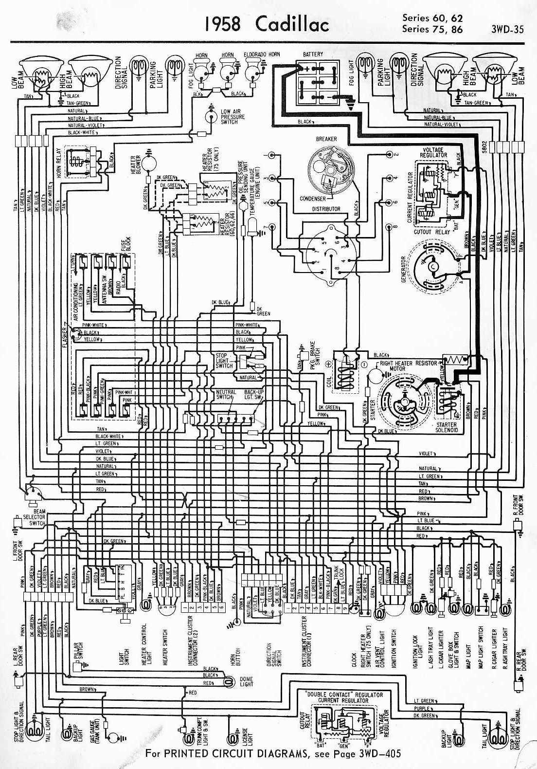 Cadillac  car manuals, wiring diagrams PDF & fault codes