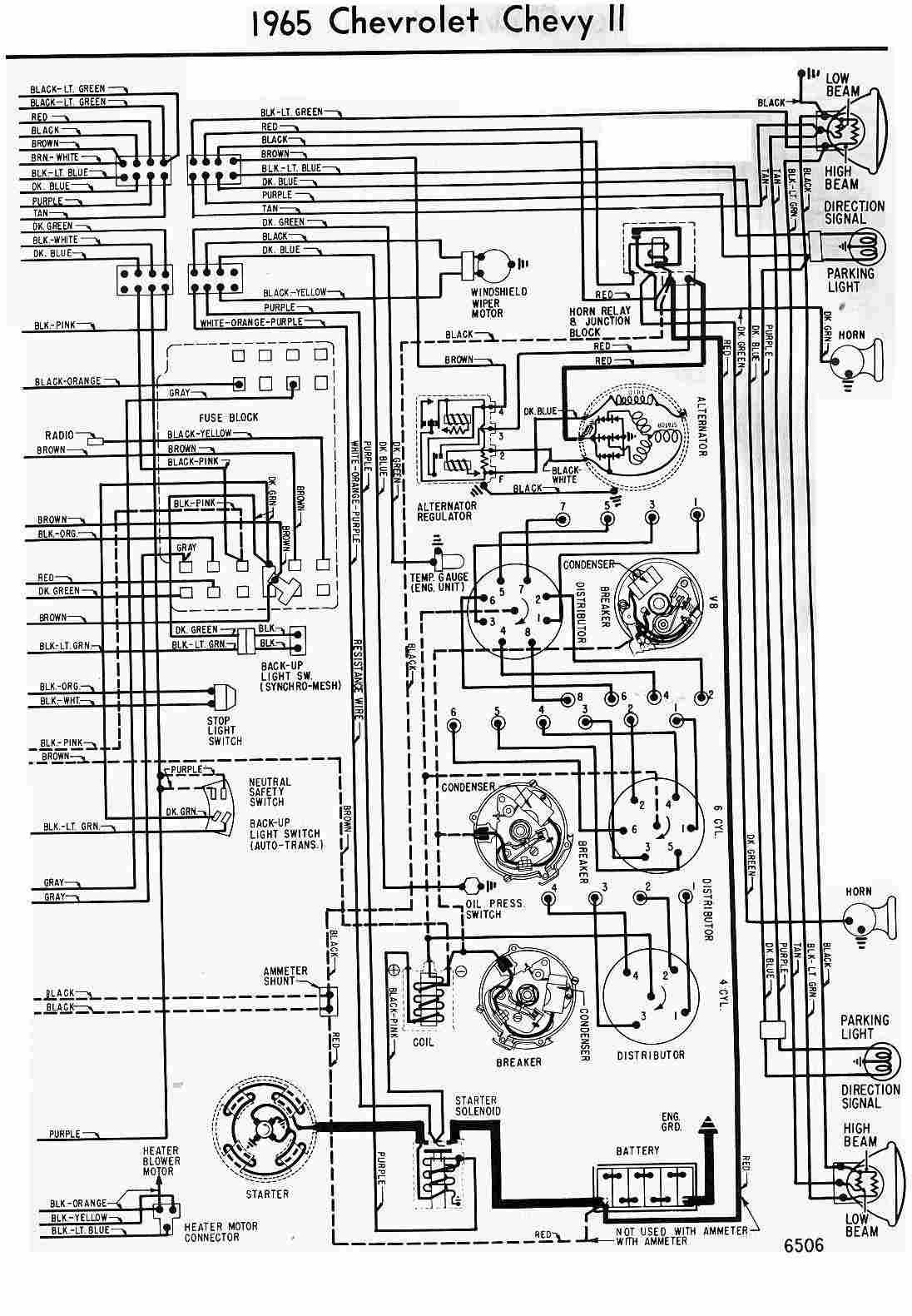 1965 Chevy Pickup Wiring Diagram: Magnificent 65 Chevy C10 Wire Diagram  Contemporary - Electrical rh