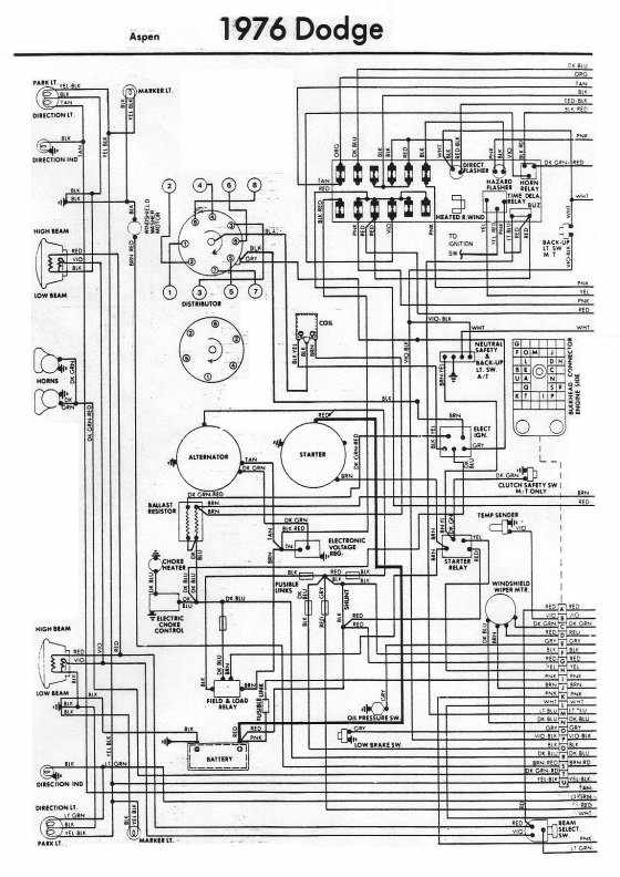 1977 Dodge Power Wagon Wiring Diagram