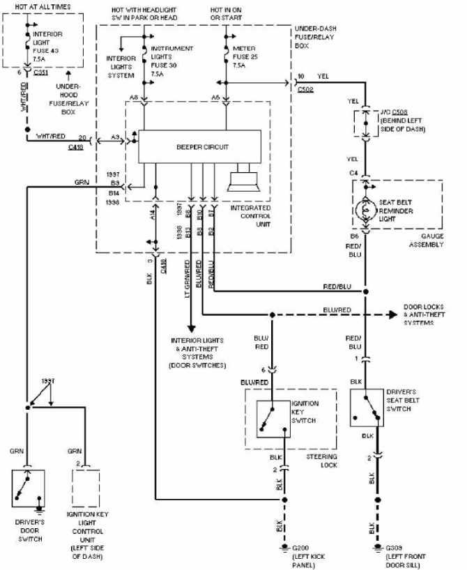 electrical diagram honda fit  diy wiring diagrams •