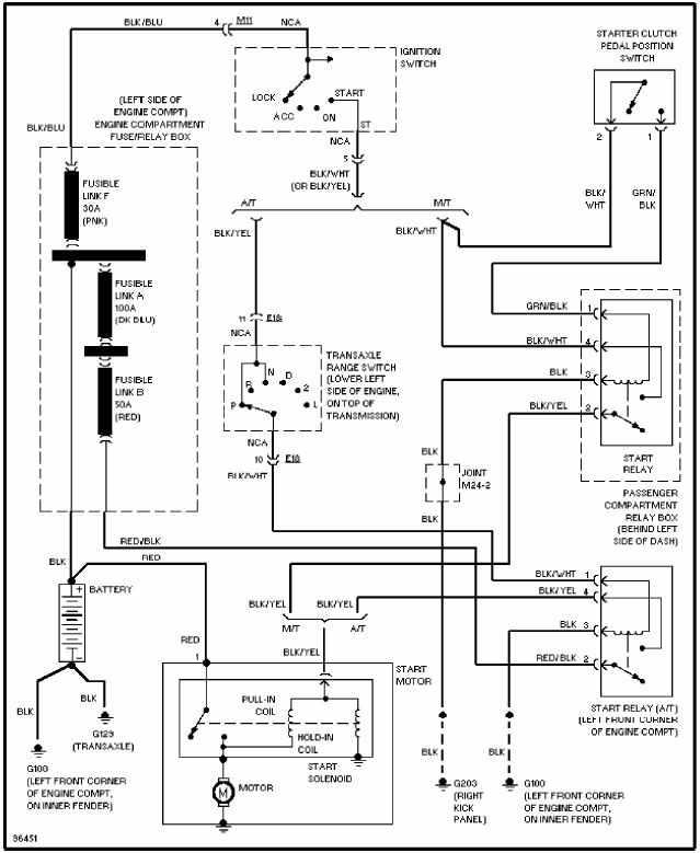 2002 Hyundai Elantra Headlight Wiring Diagram