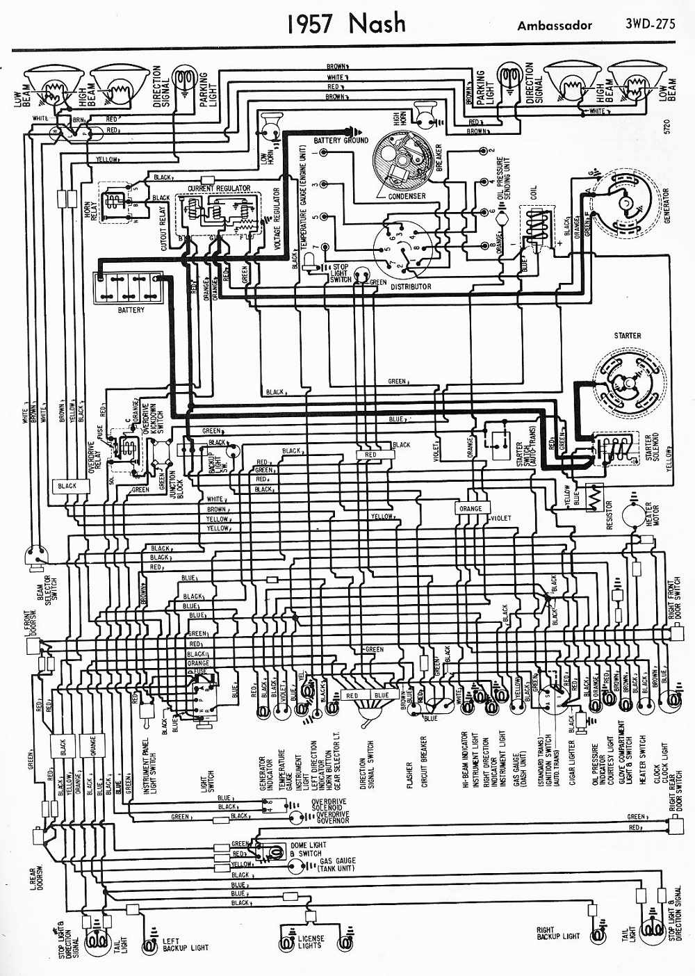 Nash  car manuals, wiring diagrams PDF & fault codes