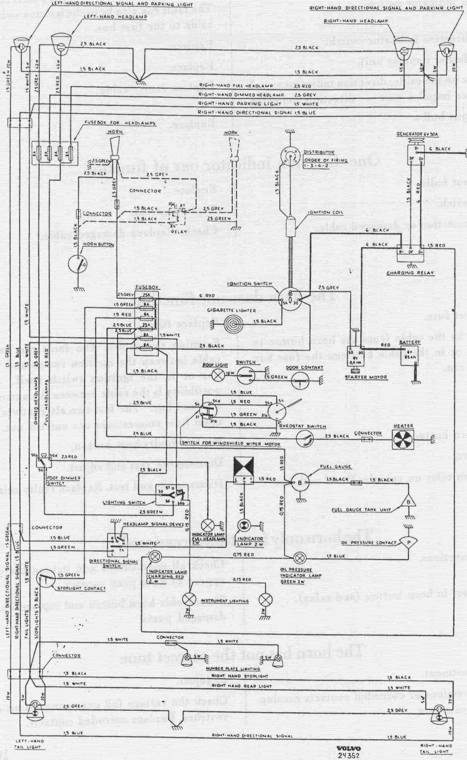 Volvo  car manuals, wiring diagrams PDF & fault codes