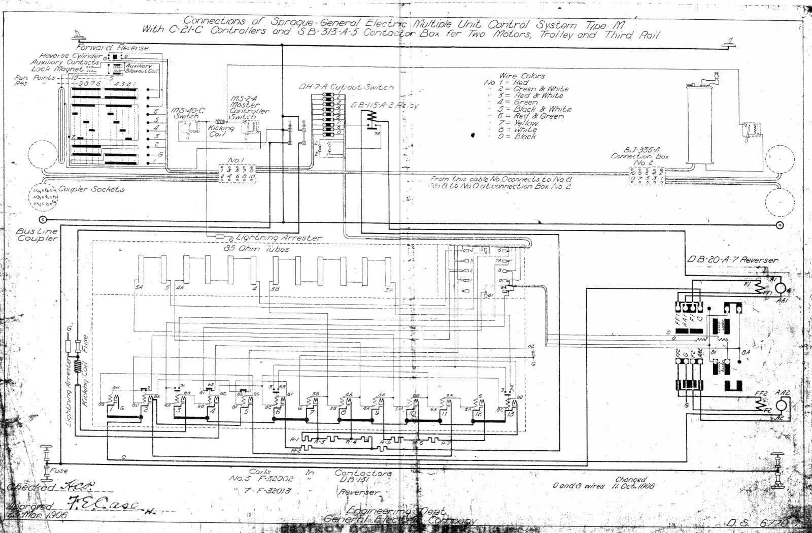Mack Gu813 Fuse Box Diagram