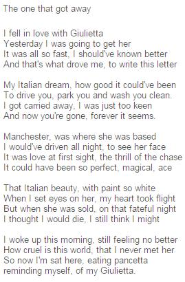 poème giulietta 1
