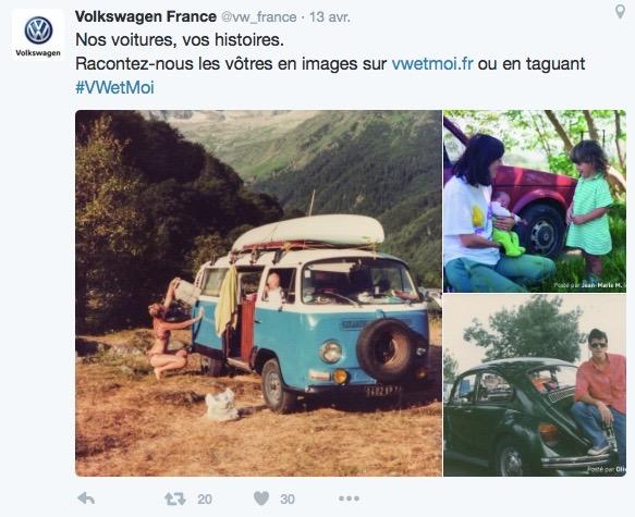 volkswagen moi un petit air de voitures vivre automotive marketing. Black Bedroom Furniture Sets. Home Design Ideas