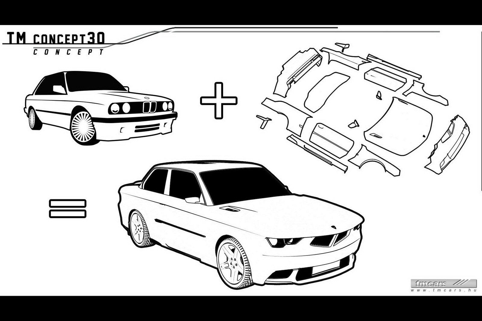 Tmcars Puts Neo Retro Style Into Bmw E30 3 Series With Tm