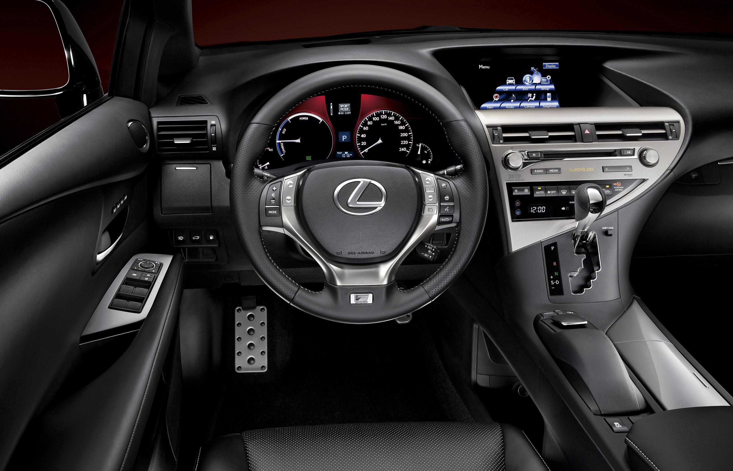 2014 Lexus RX 450h Hybrid Quick Spin