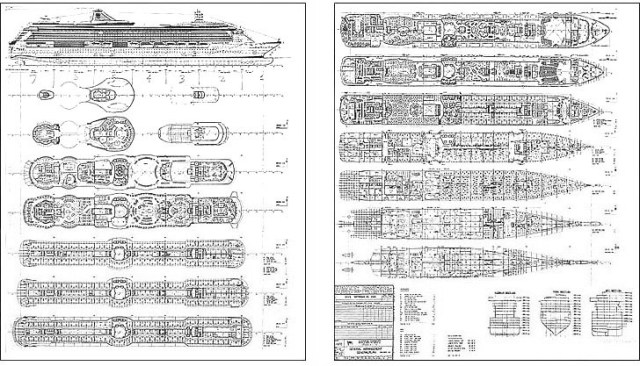 Cruise Ship Blueprint