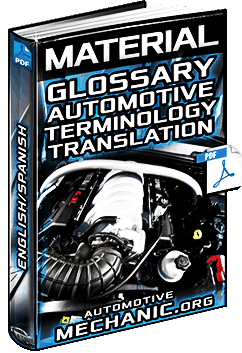 Glossary Of Automotive Terminology English Spanish