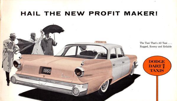 1960 Dodge Taxi Brochure