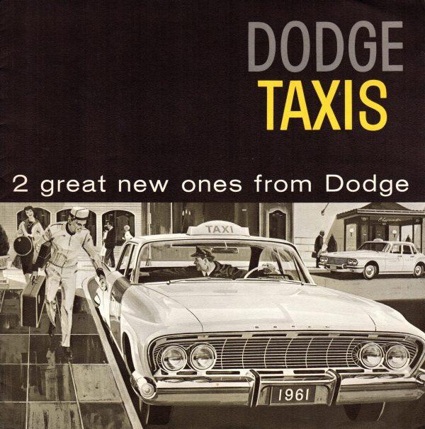 1961 Dodge Taxi