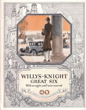 1926 Willys-Knight Great Six Brochure