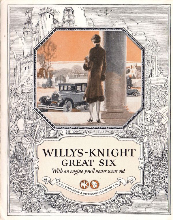 1926 Willys-Knight Great Six Brochure