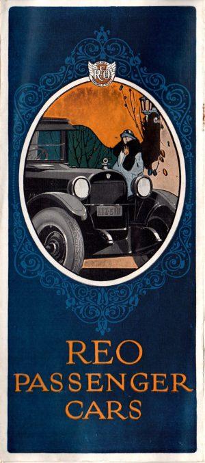 1925 Reo Cars Brochure