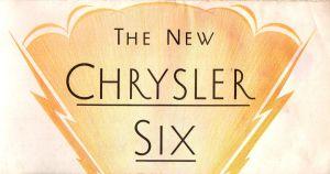 1931 Chrysler Six Brochure