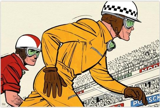"""Résultat de recherche d'images pour """"Michel Vaillant Arts Strips"""""""