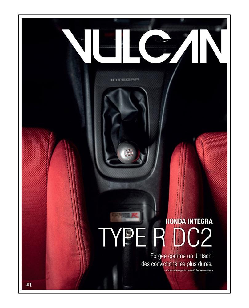 Vulcan magazine, conteur d'expériences automobiles