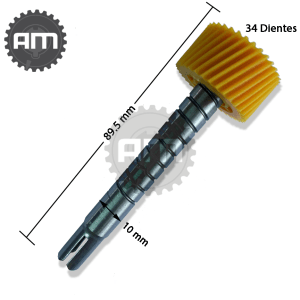 Piñón velocímetro Atos / Eon