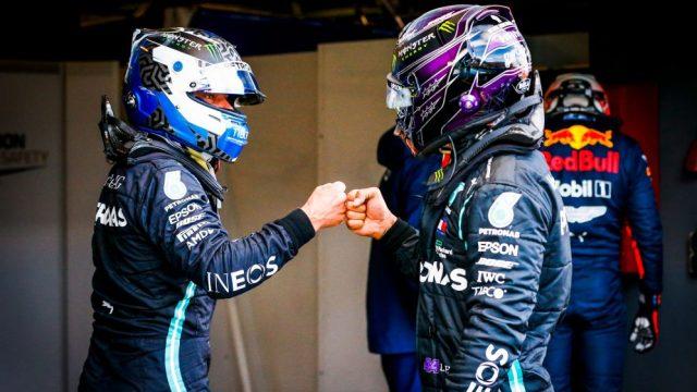 """Hamilton: """"Bottas mentalmente uno dei più forti."""""""