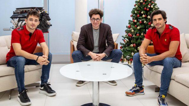 Parliamo di… La nuova coppia Leclerc-Sainz.
