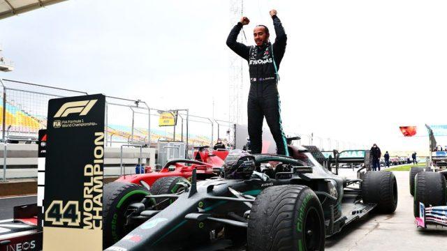Hamilton vince il settimo  titolo mondiale