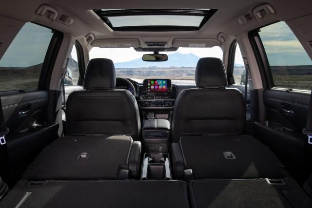 Nissan Pathfinder sedili