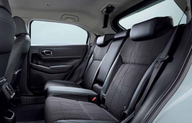 Honda HR-V e:HEV sedili posteriori