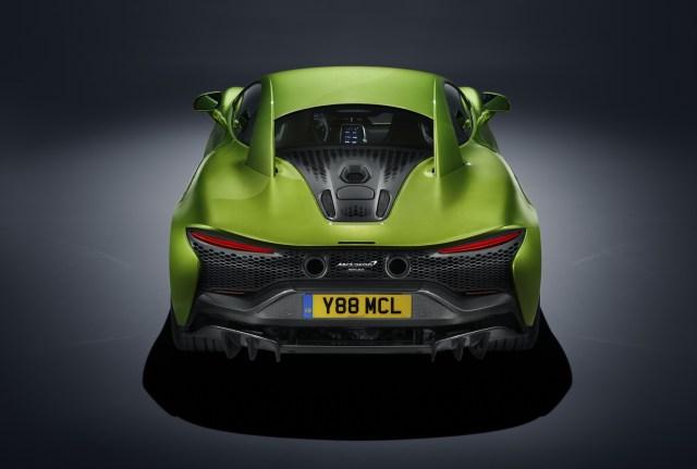McLaren Artura posteriore