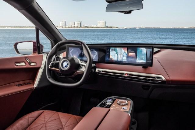BMW iX interni