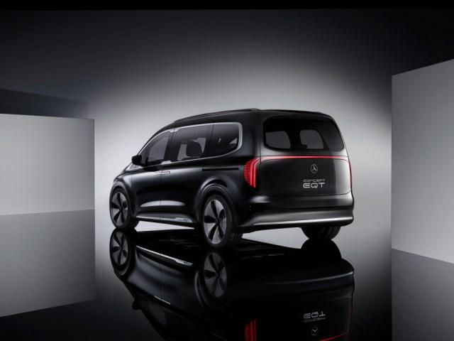 Mercedes Concept EQT posteriore