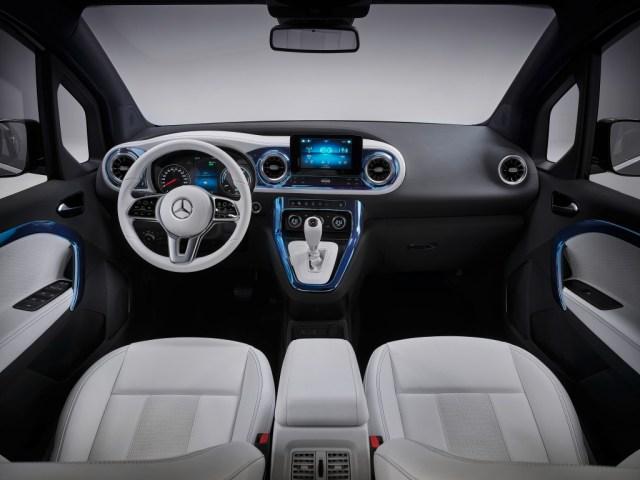 Mercedes Concept EQT interni