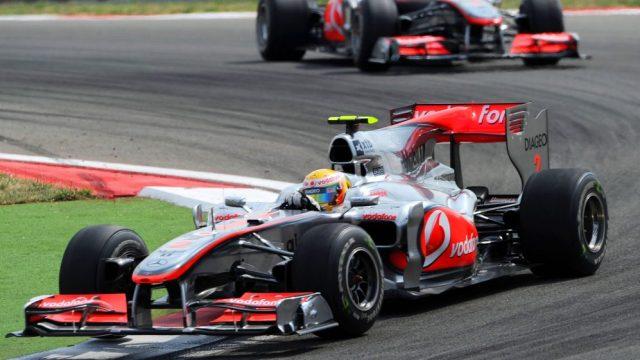 McLaren hamilton asta