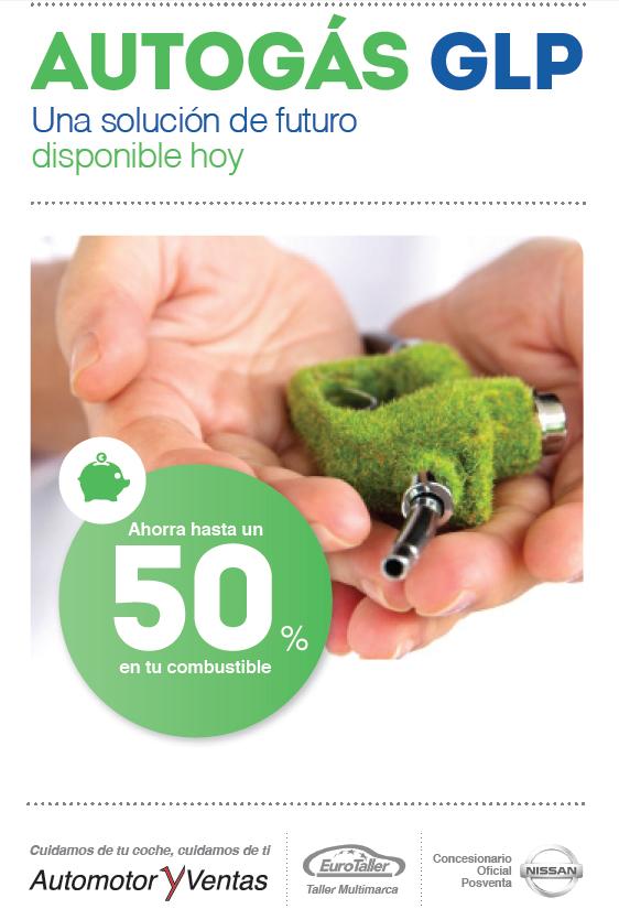 Con el autogas o glp puedes ahorrar hasta un 50% en gasolina