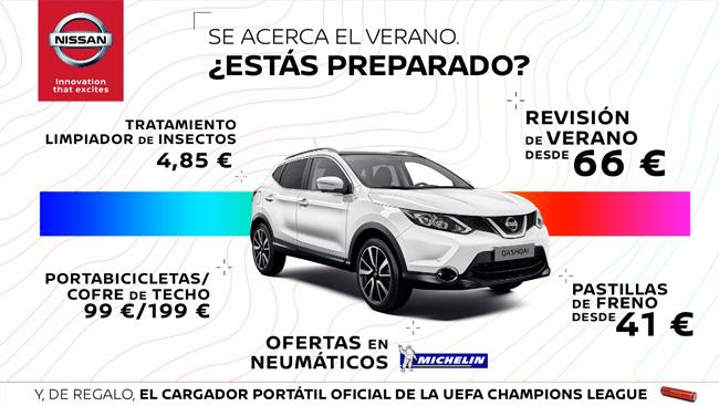 Promoción de verano Nissan