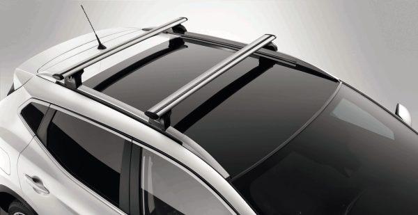barras de techo transversales Nissan Nuevo