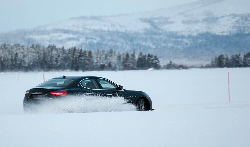 Conduccion sobre nieve