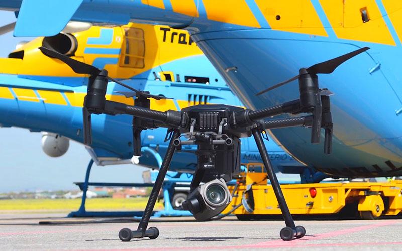 ¿Empezarán a multar los drones de la DGT en 2019?