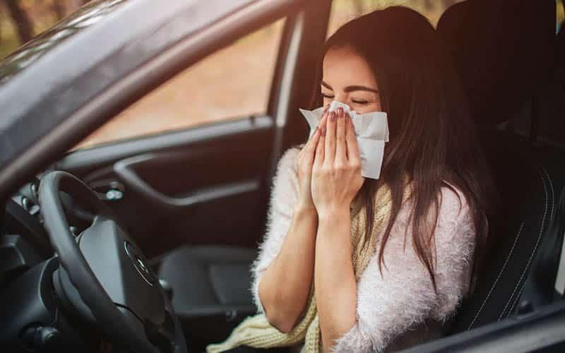 ¿Cómo preparar tu coche si tienes problemas de alergia?